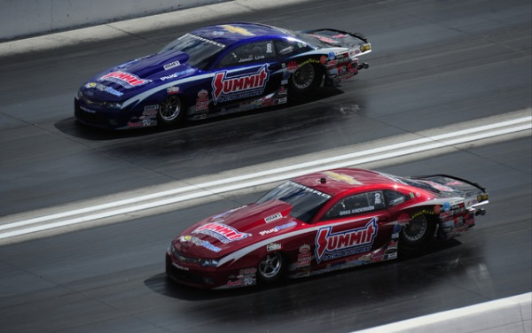 NHRA Pro Stock contenders Jason Line, Greg Anderson keep it friendly