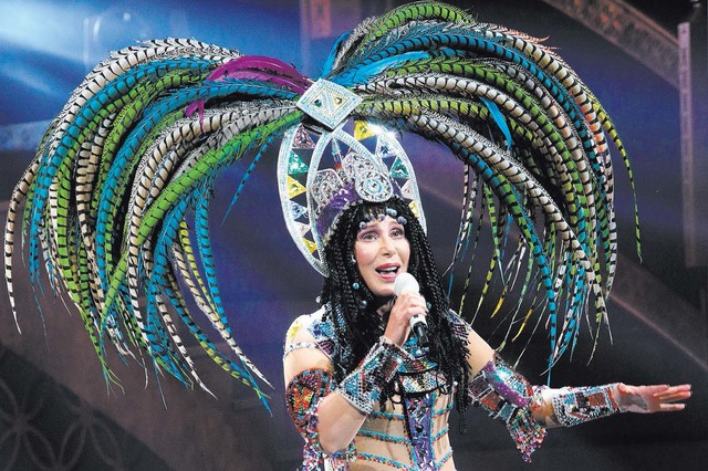 Cher is returning to Las Vegas for a residency at the Park Theater at Monte Carlo. (Greg Allen/Invision/AP)
