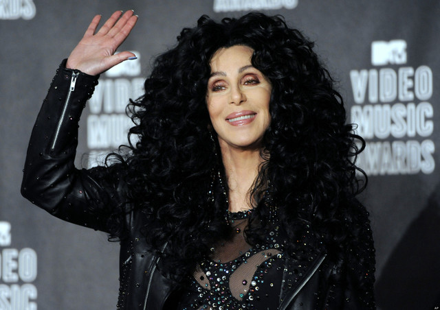 Cher attends the MTV Video Music Awards on Sept. 12, 2010, in Los Angeles. (Chris Pizzello/Invision/AP)
