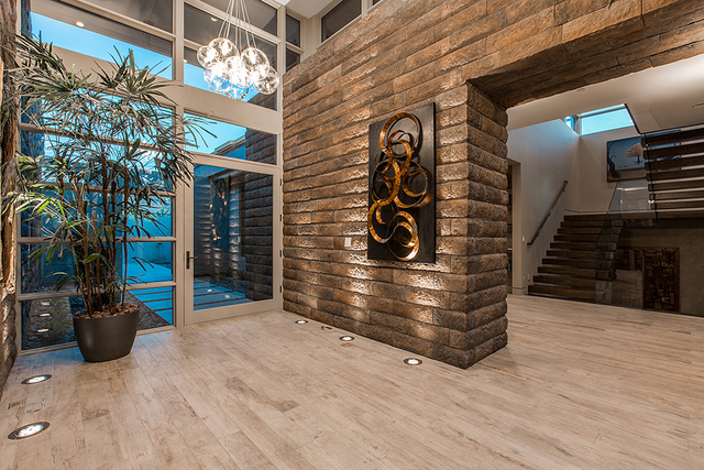The home's foyer. (Courtesy)