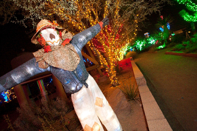 The Spring Preserve's annual Haunted Harvest, 333 S. Valley View Blvd., is planned from 5 to 9 p.m. Oct. 10-12, 17-19 and 24-26. Special to View