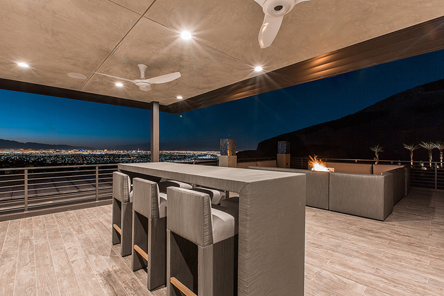 The upper level has a deck for outdoor entertaining. (Courtesy)