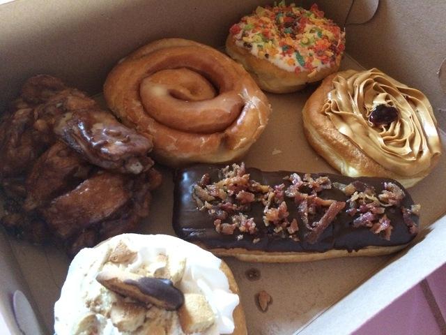 Doughnuts at Donut Mania, 4460 S. Durango Drive. Jan Hogan/View