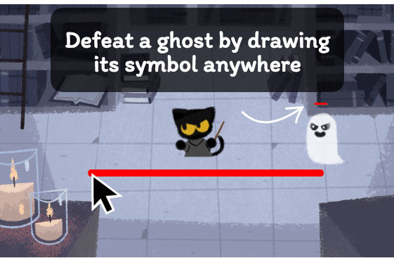 Halloween Google Doodle is a 'Harry Potter'-inspired ghost game ...