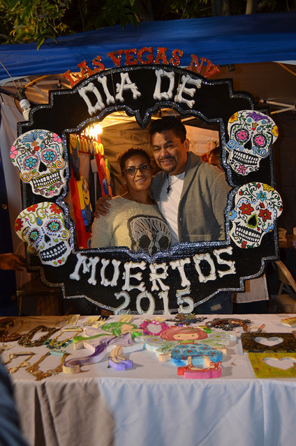 The Day of the Dead celebration at Winchester Cultural Center reunites hundreds of families during a previous event. View file photo