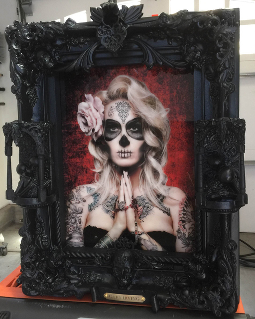 Work by Gary Irving is set to be on display at the Dia de Los Muertos show at Wonderland Gallery in The Arts Factory, 107 E. Charleston Blvd. F. Andrew Taylor/View
