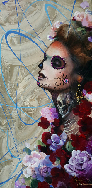 Work by Kat Tatz is set to be on display at the Dia de Los Muertos show at Wonderland Gallery in The Arts Factory, 107 E. Charleston Blvd. F. Andrew Taylor/View