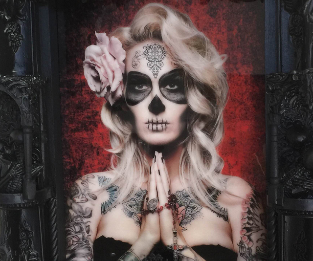 """Work by Gary Irving is on display in the """"Dia de Los Muertos"""" show at Wonderland Gallery in The Arts Factory, 107 E. Charleston Blvd. F. Andrew Taylor/View"""