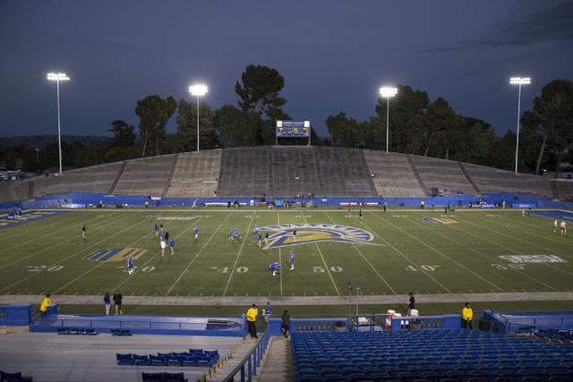 CEFCU Stadium on Saturday, Oct. 29, 2016, in San Jose. The UNLV Rebels football team were scheduled to take on the San Jose State Spartans. Erik Verduzco/Las Vegas Review-Journal Follow @Erik_Verduzco