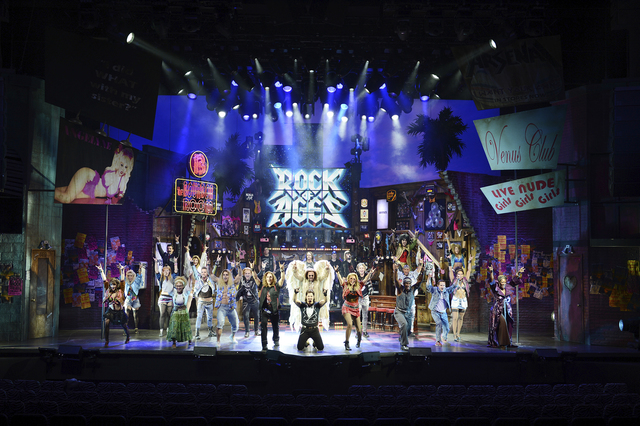 """Rock of Ages"" will close Jan. 1 at the Rio. (Denise Truscello/WireImage)"