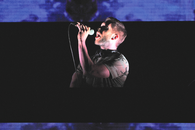 Calvin Harris performs at The B96 Pepsi Summer Bash at Allstate Arena on Sunday, June 26, 2016, in Rosemont, Ill. (Rob Grabowski/Invision/AP)