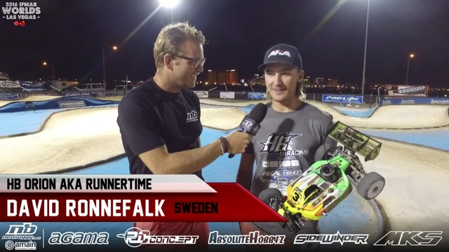 YouTube screenshot of David Ronnefalk being interviewed after winning the International Federation of Model Auto Racing in Las Vegas Saturday. (YouTube)