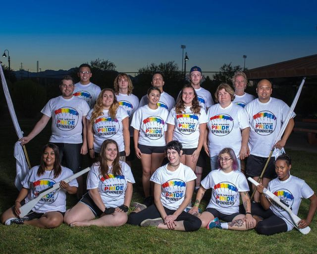 New Las Vegas PRIDE Spinners ready for debut in Friday's LGBT parade (Courtesy Sean Taylor)