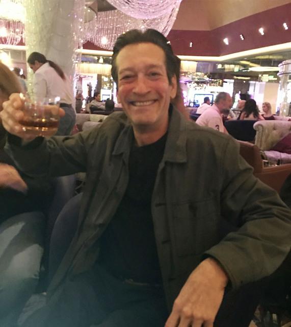 "George Lyons of ""The Lyons Den"" radio is seen at Chandelier bar before Thursday's Bob Dylan show at the Cosmopolitan of Las Vegas, Thursday, Oct. 13, 2016.  (John Katsilometes/Las Vegas Review-Jou ..."