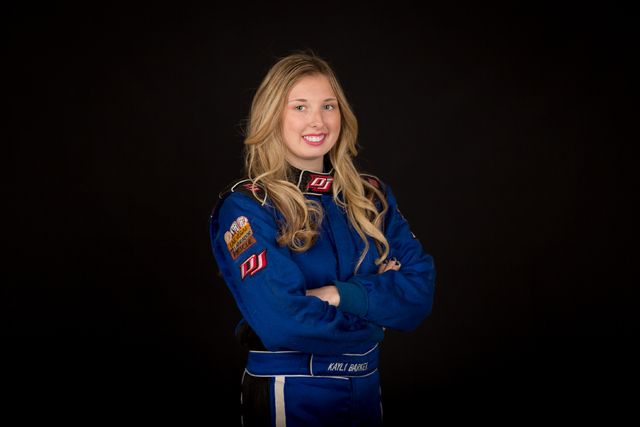 Kayli Barker, a three-time Las Vegas Motor Speedway Bullring champion, is one of 17 drivers in NASCAR's Drive for Diversity development program. (Las Vegas Motor Speedway)