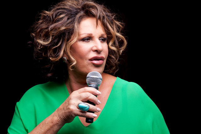 Lainie Kazan returns to The Smith Center's Cabaret Jazz this weekend to sing songs and tell tales. (The Smith Center for The Performing Arts)