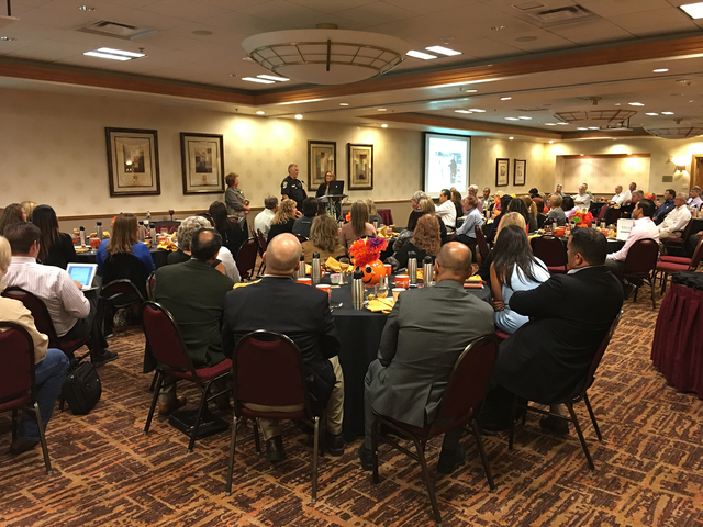 The Vulnerable Roads User Project honored numerous people Oct. 11 for their work in the community. The project honors law enforcement, engineering, education and emergency medical personnel for th ...