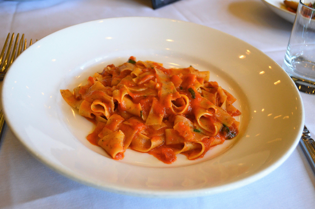 Paleo pasta (courtesy Ferraro's Italian Restaurant & Wine Bar)