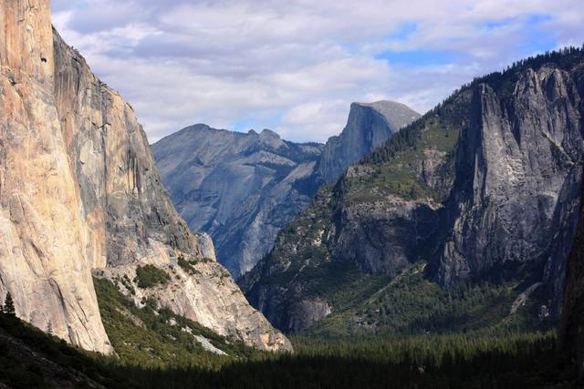 Yosemite National Park in California, seen in 2013. (Tammy Webber/The Associated Press)