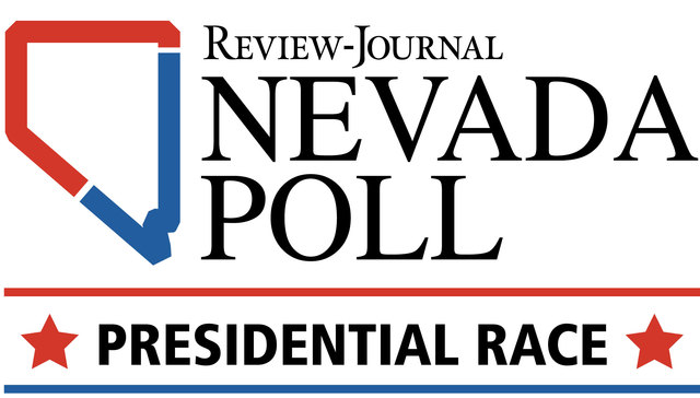 The first Nevada Poll, sponsored by the Las Vegas Review-Journal, measures the mood of the state's electorate a little more than a month before Election Day. (Gabriel Utasi/Las Vegas Review-Journal)
