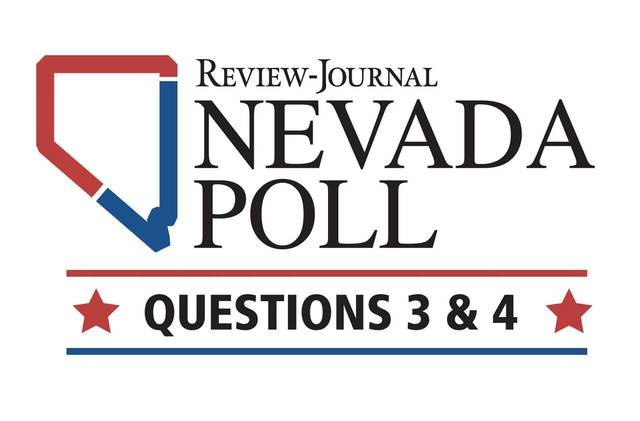 The first Nevada Poll, sponsored by the Las Vegas Review-Journal, measures the mood of the state's electorate a little more than a month before Election Day. (Las Vegas Review-Journal)