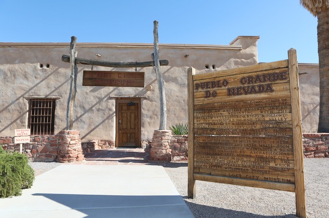 The Lost City Museum is shown Thursday, Oct. 17 2013, in Overton, Nev. The museum, located at 721 S. Moapa Valley Blvd., contains artifacts found in Southern Nevada that give insight to the native ...