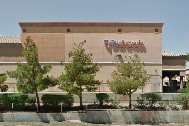 One Nevada Credit Union at 7450 W Lake Mead Blvd in Las Vegas. (Google Street View)
