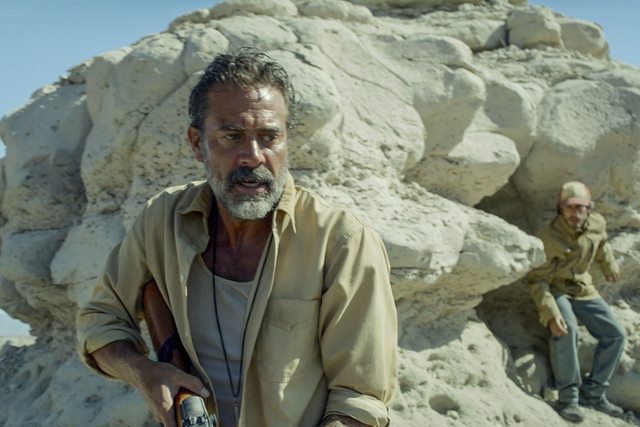 Jeffrey Dean Morgan and Gael Garcia Bernal star in Desierto.