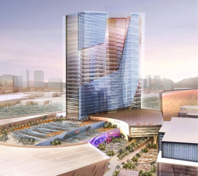 Artist's rendering shows how the redeveloped Moulin Rouge would look. Psi-Key Entertainment Corporation Inc.)