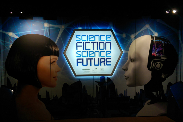 """Science Fiction, Science Future"" at the Springs Preserve will give you a sense of the technology that may be possible in the future."