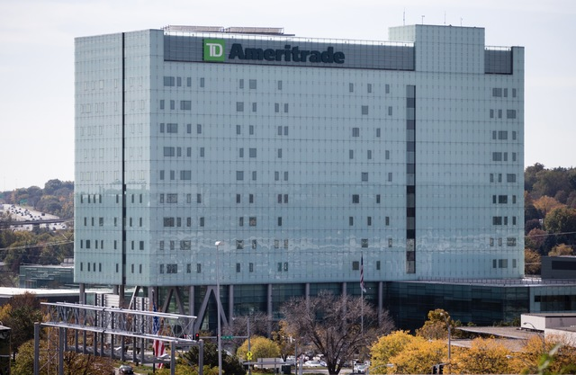 The TD Ameritrade headquarters is seen in Omaha, Neb., Friday, Oct. 21, 2016. (Nati Harnik/AP)