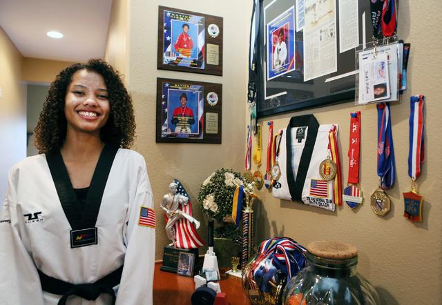 Las vegas freshman rising to the top in national taekwondo