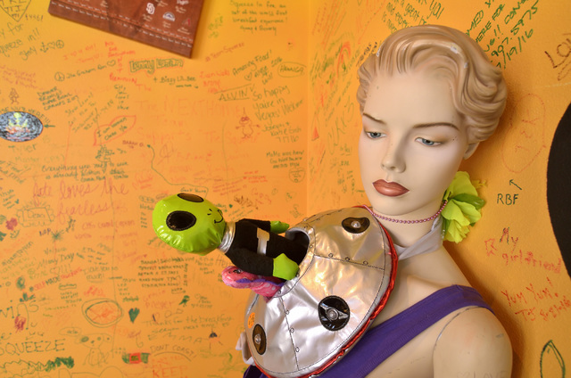 Part of the interior decor is shown at Squeeze In at 5165 Fort Apache Road in Las Vegas on Saturday, Oct. 22, 2016. Bill Hughes/Las Vegas Review-Journal