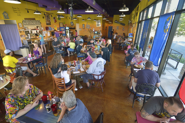 The interior of Squeeze In is shown at 5165 Fort Apache Road in Las Vegas on Saturday, Oct. 22, 2016. Bill Hughes/Las Vegas Review-Journal