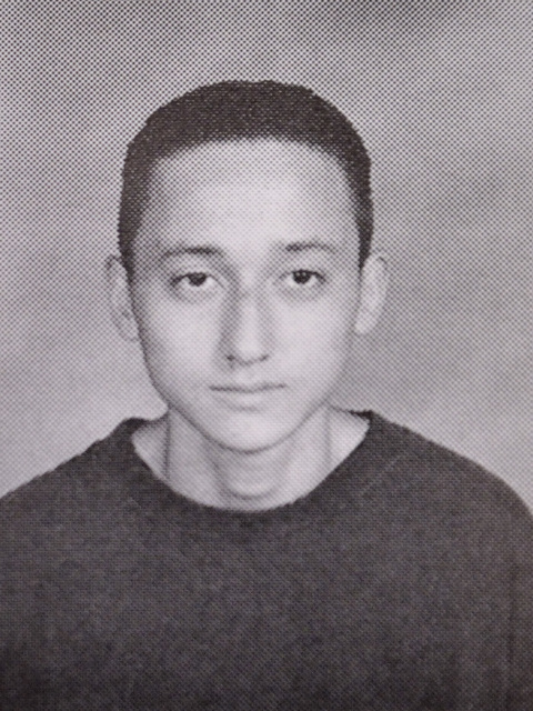 A photograph of Walter Laak as a sophomore is shown in the 1997 Valley High School yearbook at the Clark County School District Administrative Center at 5100 W. Sahara Ave. in Las Vegas on Thursda ...