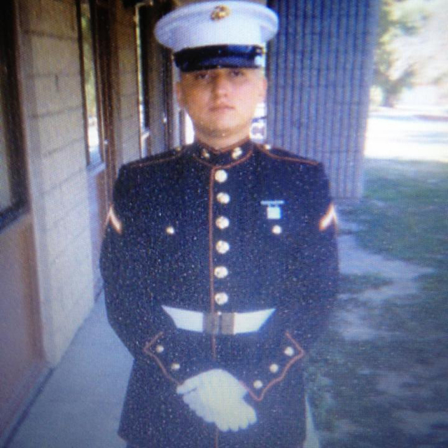 A photo from the Facebook page of Las Vegas Marine Walter Laak is shown Sept. 30, 2016. Facebook photo