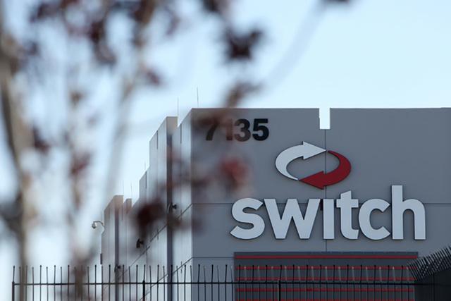 Switch data center near South Decatur Boulevard and West Warm Springs Road in Las Vegas is seen on Tuesday, April 21, 2015. (Erik Verduzco/Las Vegas Review-Journal Follow @Erik_Verduzco)