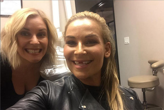 """Just grabbing two new front teeth!"" (natbynature/Instagram)"