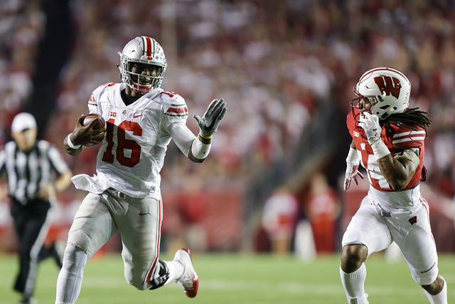 Grass Ohio Barrett A Buckeyes' Review-journal Las Snake State Vegas t J Is In The