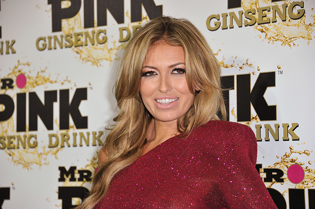 Paulina Gretzky attends the Mr. Pink Ginseng launch party at the Beverly Wilshire hotel on Thursday, Oct. 11, 2012, in Beverly Hills, Calif. (Photo by Richard Shotwell/Invision/AP)
