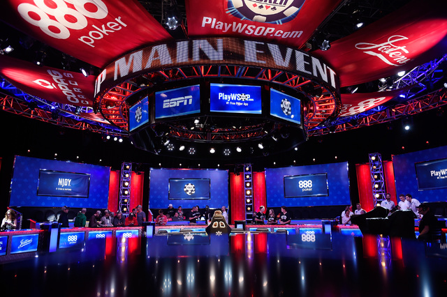 Five players remain as first day play ends at final table of world series of poker las vegas - Final table world series of poker ...