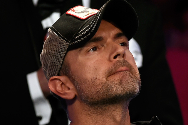 Fernando Pons of Spain looks on during the final table of the Main Event at the World Series of Poker at the Rio hotel-casino, Sunday, Oct. 30, 2016, in Las Vegas. David Becker/Las Vegas Review-Jo ...