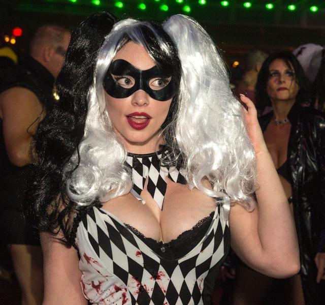 the fetish fantasy halloween ball at the hard rock hotel on saturday oct
