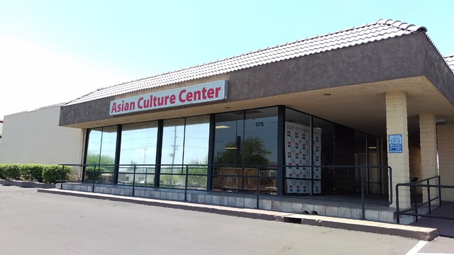 The Asian Cultural Center, 928 S. Valley View Blvd., is seen June 2. The center burned down Oct. 8. Courtesy of Cavin Fung.