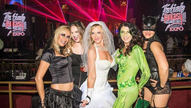 the fetish fantasy halloween ball at the hard rock hotel on saturday oct