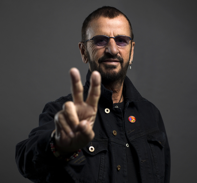 Ringo Starr poses for a portrait on Monday, June 13, 2016, in New York. (Scott Gries/Invision/AP)