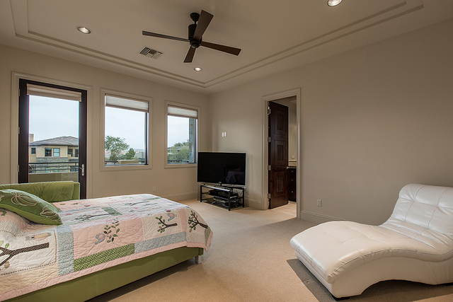 All four bedrooms are ensuite baths and walk-in closets. (Courtesy)