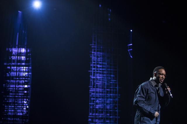 Derek Adams performs during the Best of Las Vegas Show at The Venetian Las Vegas hotel-casino on Saturday, Nov. 5, 2016. Loren Townsley/Las Vegas Review-Journal Follow @lorentownsley