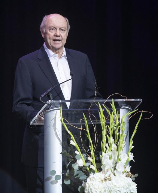 Craig Moon, the publisher of the Las Vegas Review-Journal, speaks during the Best of Las Vegas Show at The Venetian Las Vegas hotel-casino on Saturday, Nov. 5, 2016. Loren Townsley/Las Vegas Revie ...