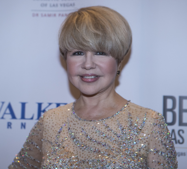 Pia Zadora walks on the red carpet before the Best of Las Vegas Show at The Venetian Las Vegas hotel-casino on Saturday, Nov. 5, 2016. Loren Townsley/Las Vegas Review-Journal Follow @lorentownsley
